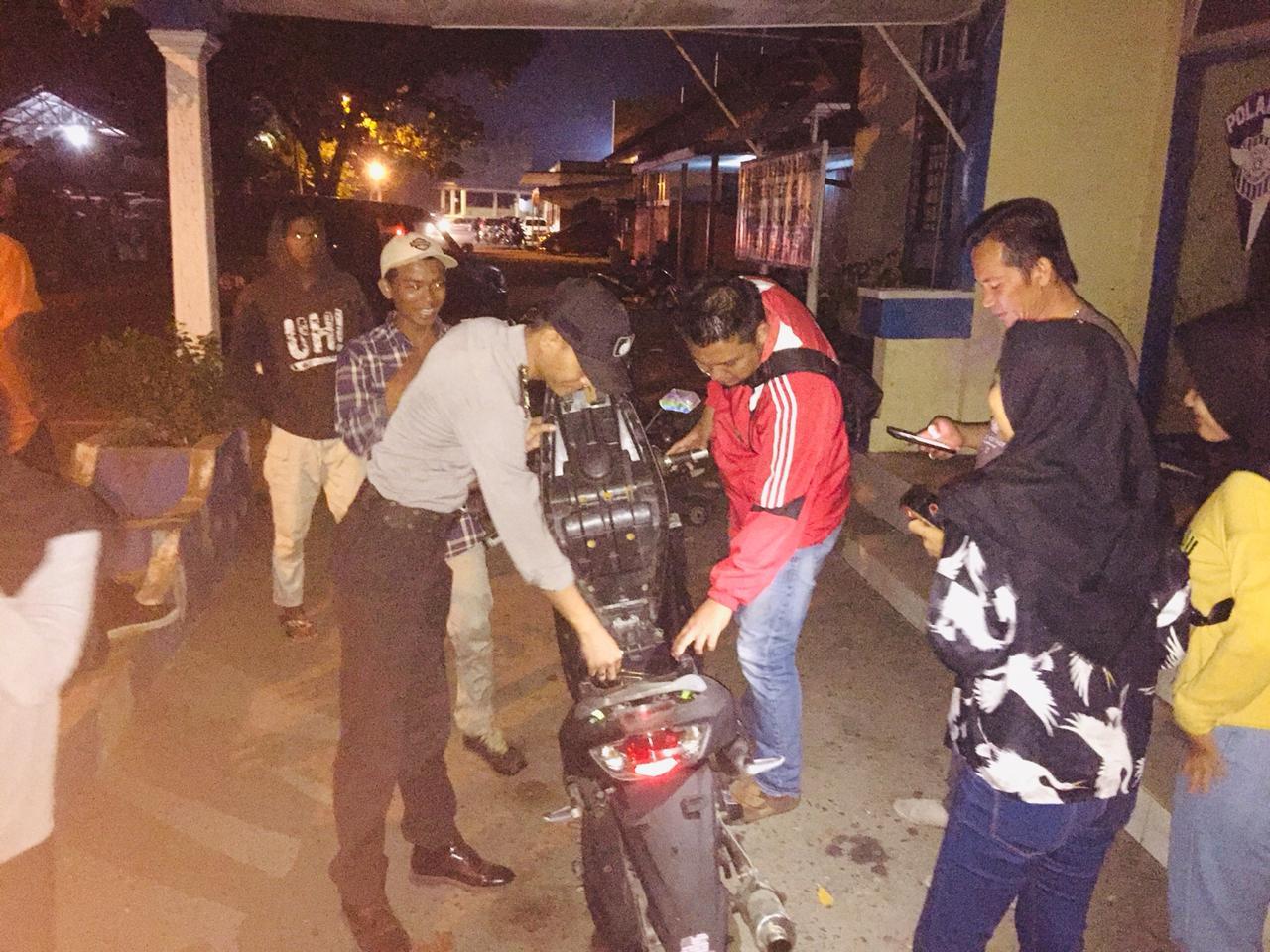 Tingkatkan Giat KKYD, Polsek Tanjungpandan Gencar Lakukan Patroli Wilayah Rawan Kriminal