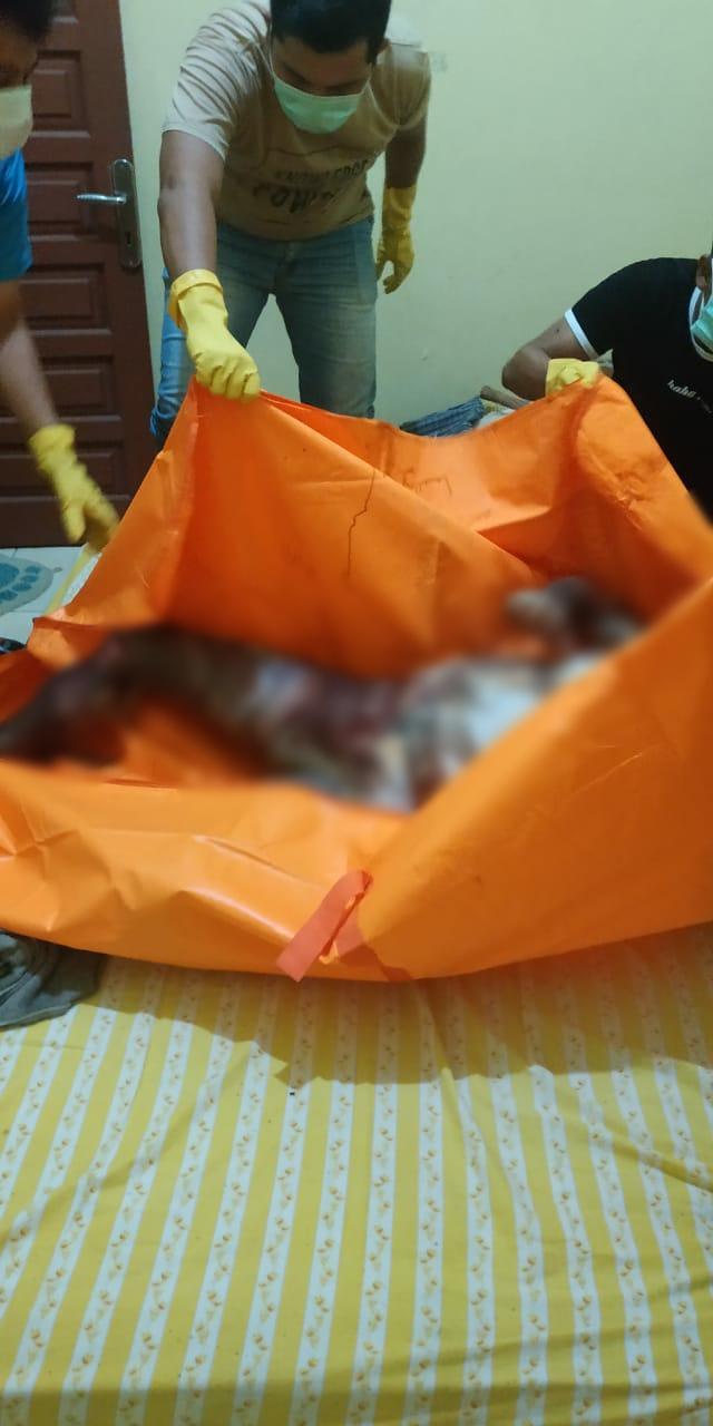 Heboh, Penemuan Mayat Dalam Sebuah Kontrakan Di Belitung