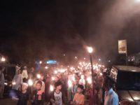 Memperingati Malam 10 Muharram, Kecamatan Girimaya Gelar Pawai Obor