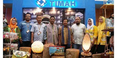 Stan PT Timah Tawarkan Hasil Produksi Pelaku Usaha Lokal