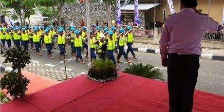 Karyawan PT Timah Gelar Aksi Keselamatan Kerja Unit Produksi
