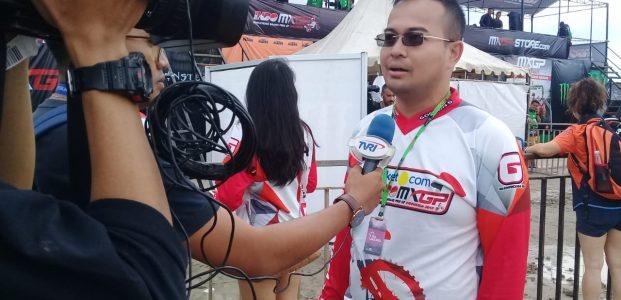 Cuaca Mendung,Chairman of MXGP Indonesia Berdoa MXGP Pangkalpinang Sukses