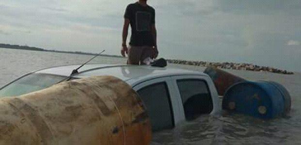 Mobil Dinas Tenggelam, Ini Penjelasannya Erika