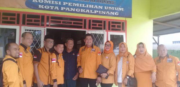 Ketua KPU Pangkalpinang Sebut Partai Hanura Yang Pertama Mendaftar