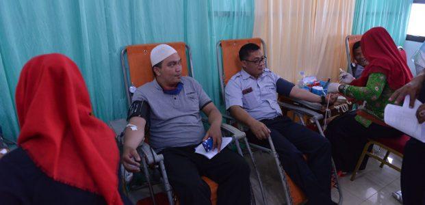 Donor Darah Massal Bulan Bhakti 2018