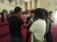 Molen Walikota Terpilih Tampil Perdana Di DPRD kota Pangkalpinang