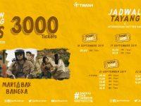 3000 Tiket Bioskop Film Martabak Bangka, Besok Akan Dibagikan PT Timah Gratis