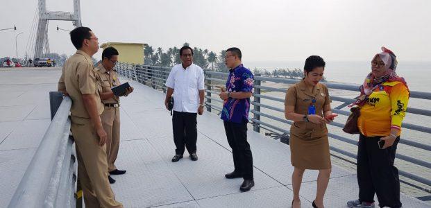 Jembatan Emas Ternyata Tidak Rusak, Hasil Kunjungan Dewan