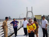 Jembatan Emas Belum Beroperasi Maksimal, Tunggu KSOP Pangkalbalam Sepakat