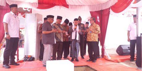 Wakil Presiden Resmikan Pembangunan Pesantren AN Nawawi Tanara 2 Di Kelurahan Selindung