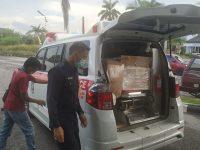 Rumah Sakit Umum Provinsi Bagikan Alat Pelindung Diri