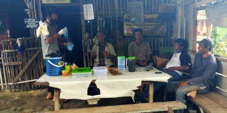 Solidaritas Peduli Pandemi Covid-19, Alumni SMAN 1 Belinyu Bagikan Masker