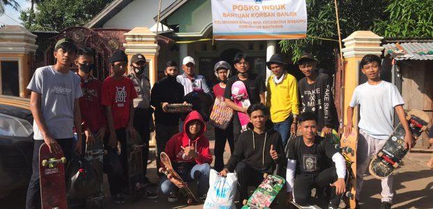 Komunitas Bantaeng Skateboarding, Sk8Bulukumba Bantu Korban Banjir Bandangdi Bantaeng