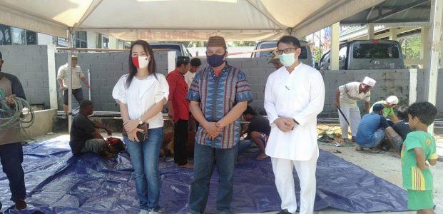 Terimakasih Donatur, Pokja Wartawan Berbagai Kurban Kepada Kaum Duafa