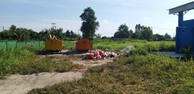 Warga Minta Kontainer Sampah di Lapangan Bola ASBC Segera Dipindahkan