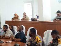 Aksi Damai Di Kantor DPRD Kab Bangka oleh Petani KSR