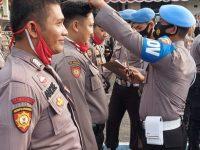 Giat pengecekan Gampol Dan Sikap Tampang Serta Kelengkapan Kartu Identitas Pers Polres Pangkalpinang .