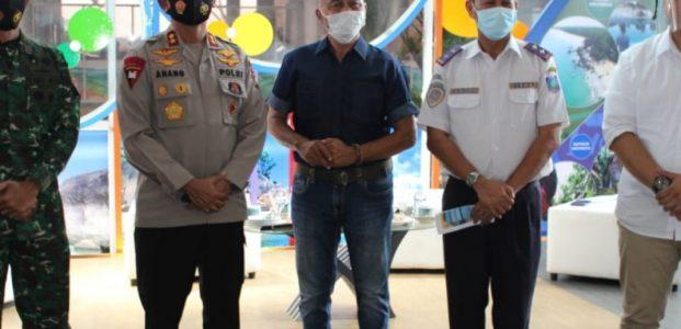Danrem 045/Gaya Brigjen TNI M. Jangkung Widyanto S.I.P., M.  Tr (Han) Lakukan 3 M (Memakai Masker,  Mencuci Tangan Dan Menjaga Jarak) .