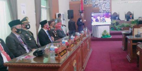 Dandim 0413/Bka Kolonel Inf Pujud Sudarmanto Dengarkan Pidato Kenegaraan Presiden RI Dalam Rapat Paripurna Istimewa .