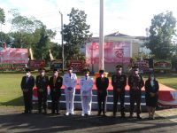 Usai Pelaksanaan Upacara HUT RI KE-75, Para Pimpinan Lembaga Instansi Vertikal di Kabupaten Belitung Kecawa!