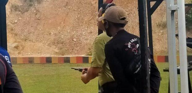 Dandim 0413/Bangka Ikuti Pertandingan Menembak