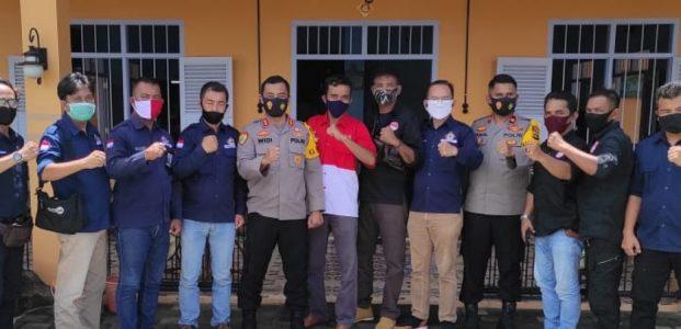 Organisasi Pers Babel Silaturahmi Bersama Kapolres Bangka