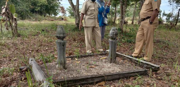 Bupati Belitung Amankan Makam Kik Engkol