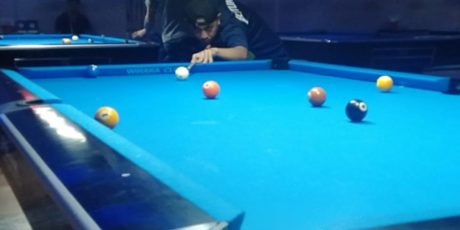 Tim Billiard FKB Latihan Pemantapan di JH