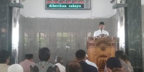 Arcandra Tahar Khatib Jumat Masjid Kantor Pusat PT Timah