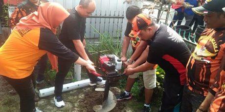 Molen Bersama Pemuda Pancasila Launching Seribu Lubang Biopori