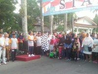 Molen Lepas Ribuan Peserta Jalan Sehat Hari Bhakti Imigrasi