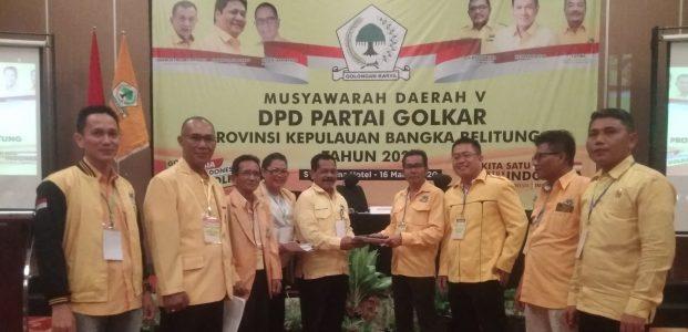 DPP Dianggap Sebarkan Isu Negatif, Suksesi Calon Ketua Golkar Babel, 6 Suara Pastikan Dukungan pada BPJ Tidak Ganda