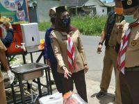 Cegah Covid19, Melati Erzaldi Berikan Bantuan Di Kelurahan Selindung Baru