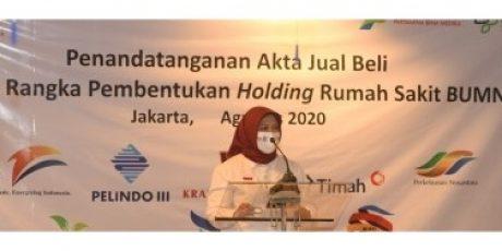 PT Timah Resmi Masukan RSBT Dalam Holding RS BUMN