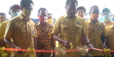 Bambang Patijaya Resmikan Kantor DPD I Partai Golkar Babel