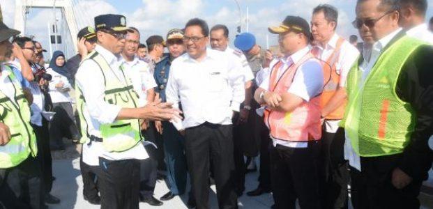 Menteri Perhubungan Sarankan Jembatan Emas Jadi Ikon Wisata Nasional