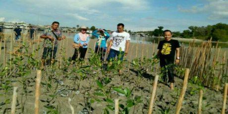 Bersama Nelayan Dan Pemuda Tanam Mangrove