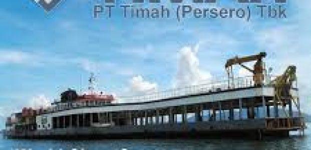 PT.TIMAH SIAPKAN 330 M, UNTUK KAPAL MENAMBANG DI LAUT