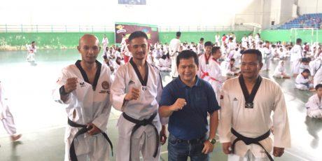 401 Peserta Ikuti UKT Pengkot Taekwondo Indonesia Cabang Pangkalpinang